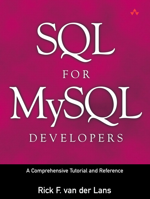 SQL for Mysql Developers By Van Der Lans, Rick F./ Cools, Diane (TRN)