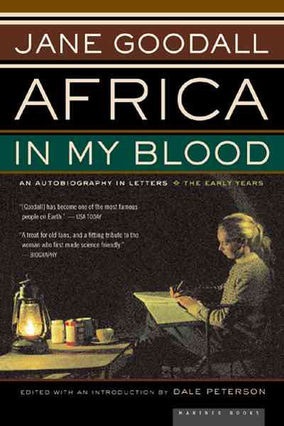 Africa in My Blood By Goodall, Jane